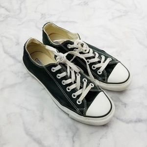 Converse|Black & White Low Top Sneakers